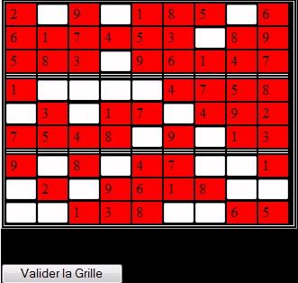 sudoku , avec 4 niveau de difficulté et plus de 1000 grilles